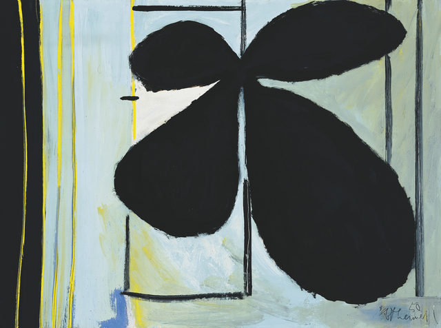 , 'Black Plant and Window,' 1950, Dedalus Foundation