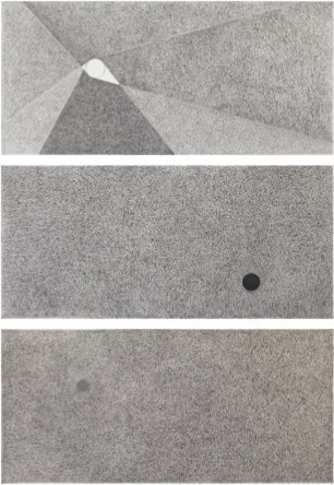 , 'Sin Título (relación de pesos y vacíos sólidos - una aproximación),' 2013, MARSO