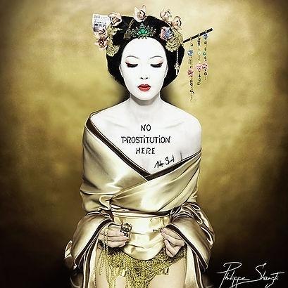 , 'No Prostitution Here Geisha,' 2016, Art Angels