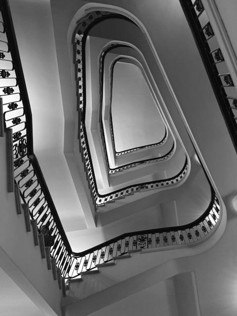 , 'Spiral Stairway,' 2015, Walter Wickiser Gallery