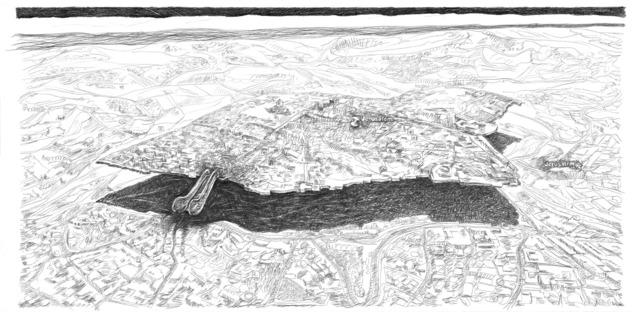 , 'Jerusalem needs to hover!,' 2008-2018, SARIEV Contemporary