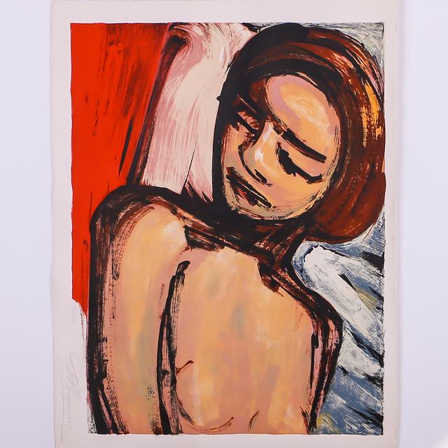 David Alfaro Siqueiros, 'Untitled, woman sleeping', ca. 1972 , Les Arts
