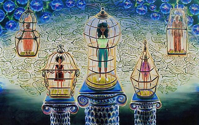 Zeal Harris, 'Women on Pedestals ', 2019, Wallspace