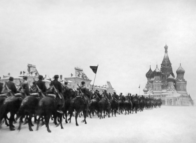 , 'Cavalry, Red Square, November 7, 1941,' 1941, Etherton Gallery