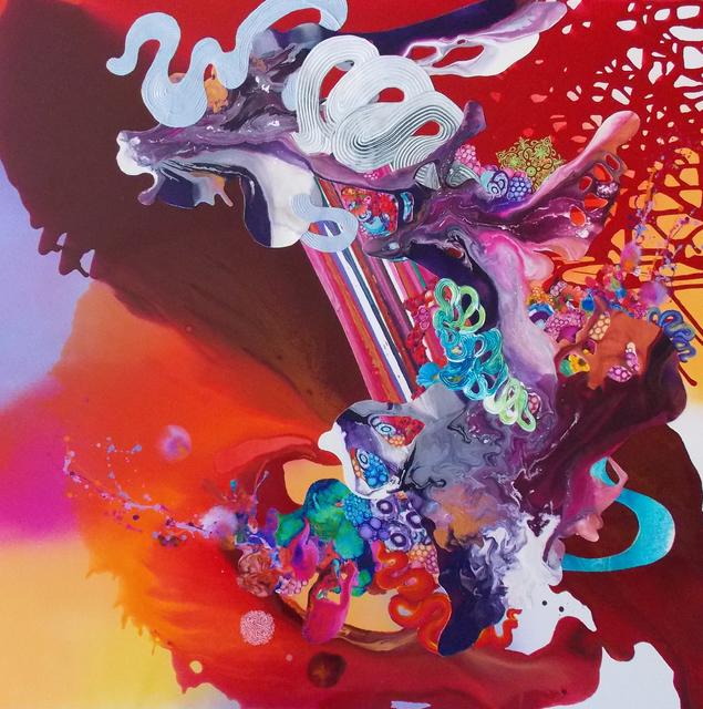 , 'Moon Dust Trailed From His Flaming Orange Hair,' 2015-2016, Gallery Elena Shchukina