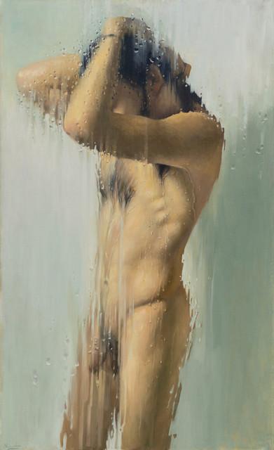 , 'Shower Screen IV,' 2019, Galerie Thomas Fuchs