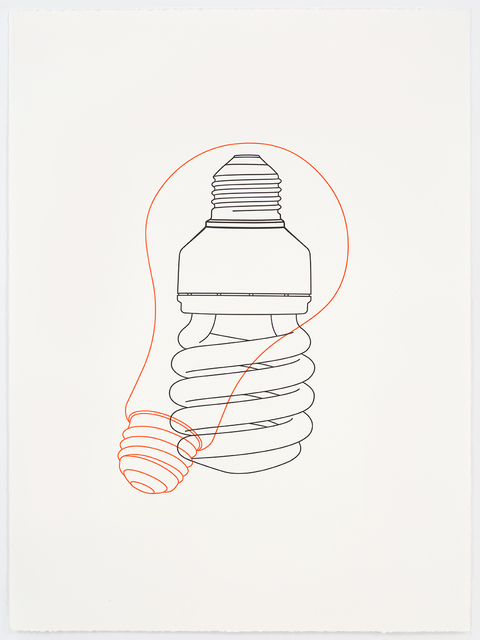 , 'Light bulb / Light bulb,' 2017, Alan Cristea Gallery
