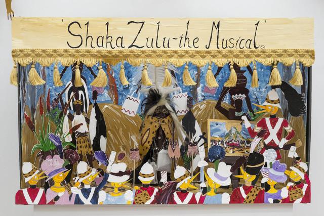 , 'Shaka Zulu - the Musical (model),' 2016, Sperling