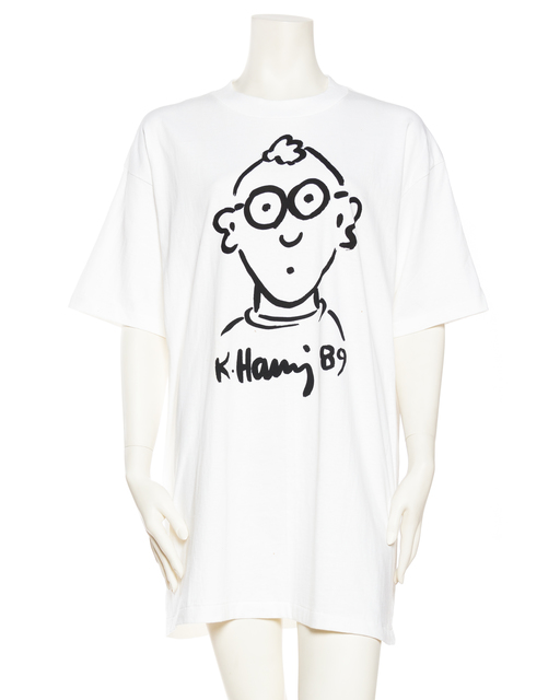 , 'Keith Haring Self Portrait ,' 1989, Morphew