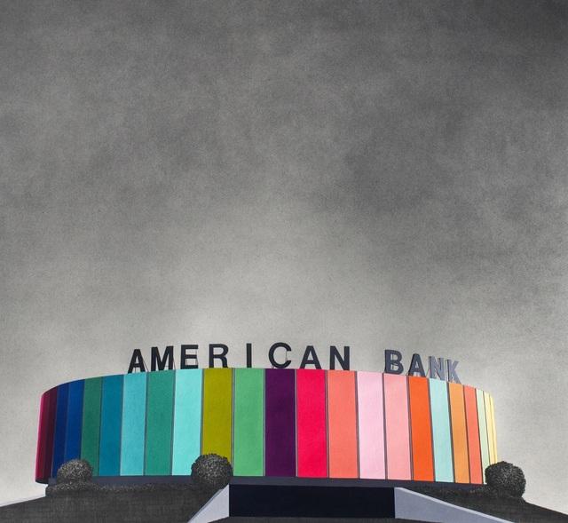 , 'American Bank,' 2013, Muriel Guépin Gallery
