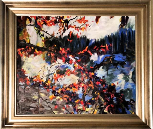Redina Tili, 'Floret - Original Oil on canvas painting by redina Tili', 2017, Newport Brushstrokes Fine Art