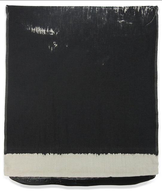, 'Pressed Paint (Mars Black),' 2017, Gemini G.E.L. at Joni Moisant Weyl