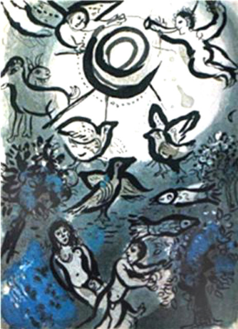 Marc Chagall, 'Creation', 1960, Print, Original lithograph, Galerie d'Orsay