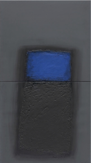 Erwin Bechtold, 'oben XXV-6', 2005, Galerie Gisela Clement