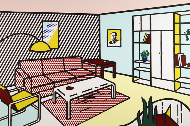 Roy Lichtenstein, 'Modern Room,' 1990, Ronald Feldman Fine Arts