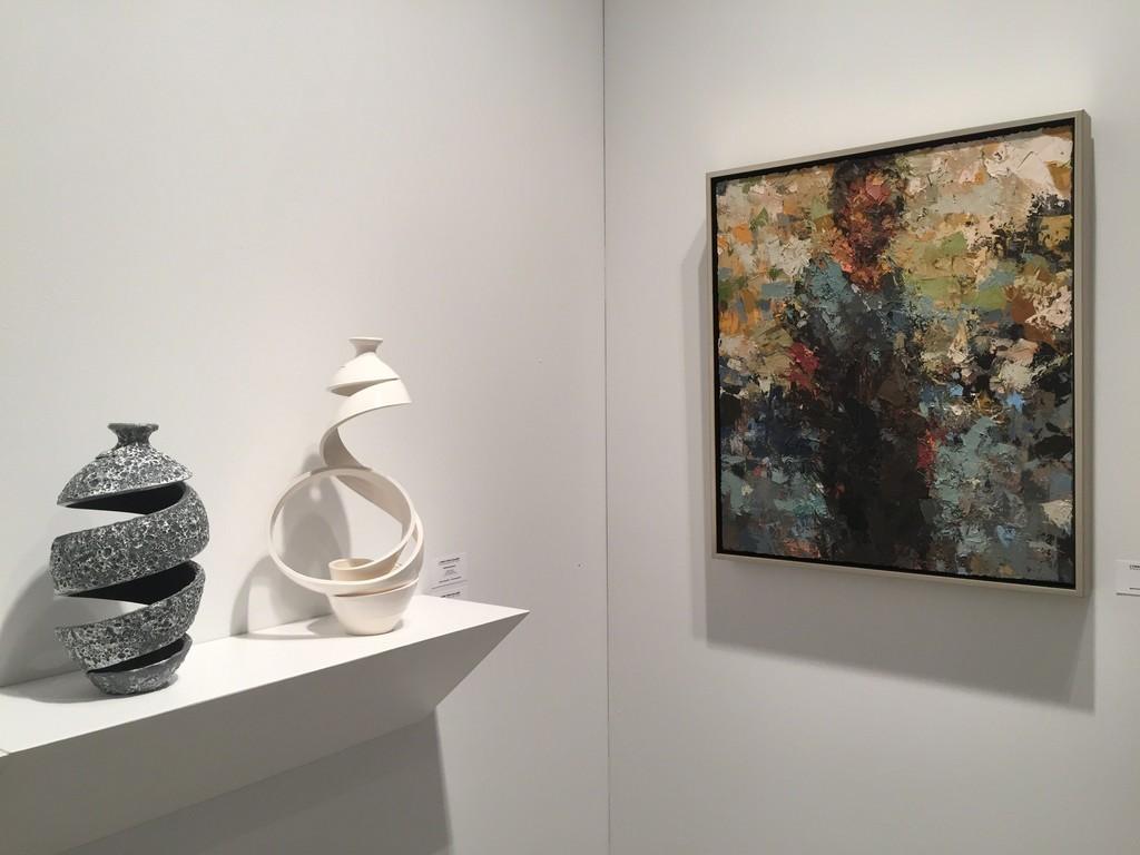 Michael Boroniec (ceramics), Joshua Meyer (right)