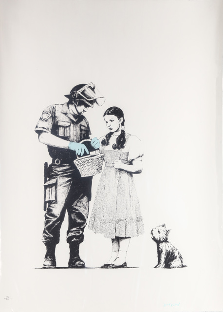 Banksy, 'Stop And Search', 2007, Chiswick Auctions