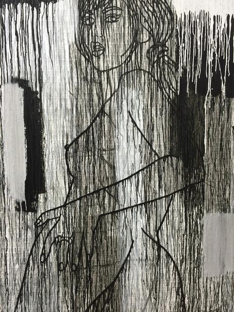 , 'La Mariée en Blanc et Noir,' 2015, Kewenig Galerie