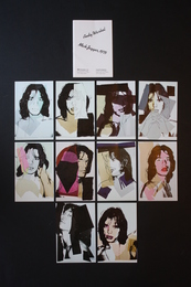 Mick Jagger - Set of 10 postcards