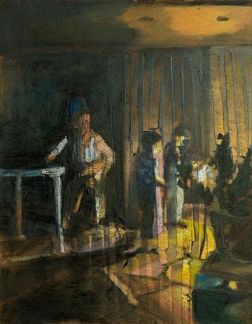 , 'Fireworks 1,' 2013, Dvir Gallery