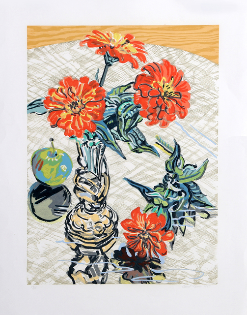 Janet Fish, 'Apples and Zinnias', 1995, RoGallery