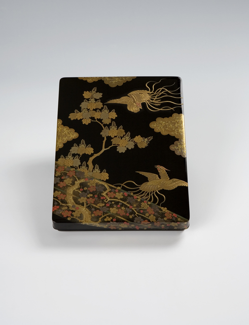 , 'Phoenix and Plum Writing Box (T-1532),' Meiji-Taisho period Early 20th century, Erik Thomsen