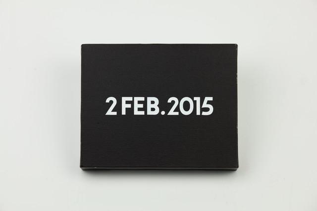 , 'On Kawara, Today Series, 2FEB.2015,' 2015, MadeIn Gallery