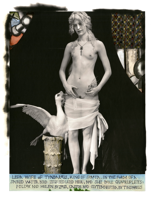 Joel-Peter Witkin, 'Leda Giving Her Lover a Condom, New Mexico', 2011, Etherton Gallery