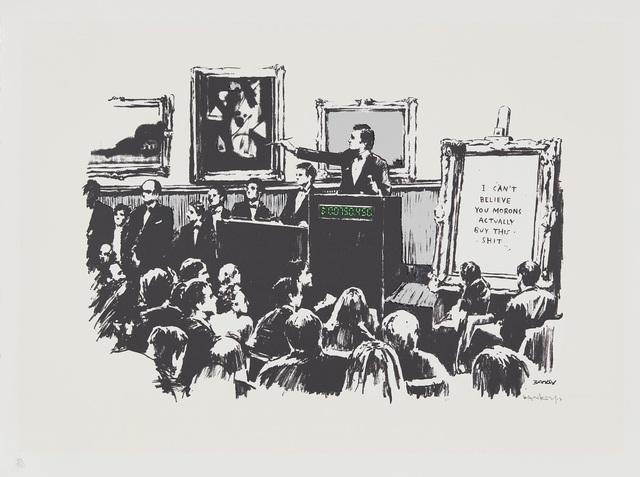 Banksy, 'Morons', 2007, Phillips
