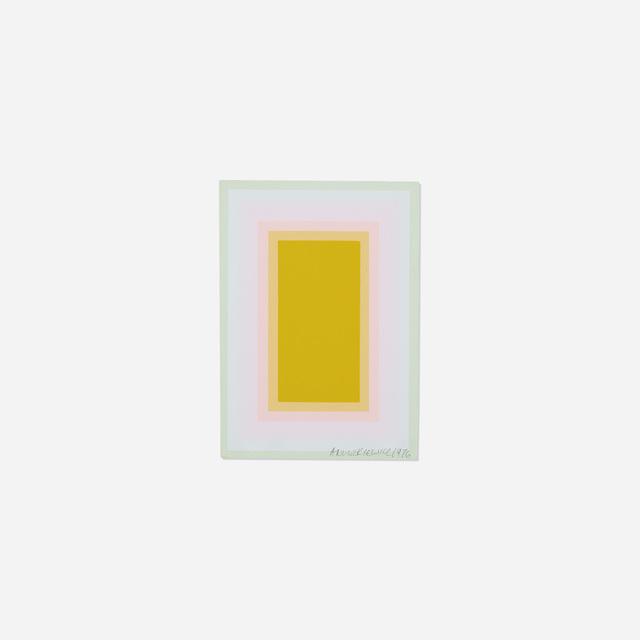 Richard Anuszkiewicz, 'Untitled (Annual Edition)', 1976, Rago/Wright