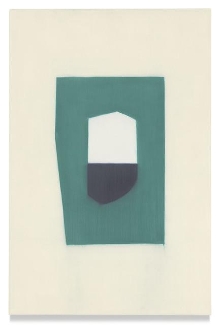 Suzanne Caporael, '730 (man)', 2017, Miles McEnery Gallery
