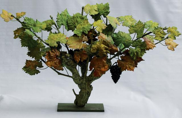 Rafael Muyor, ' autumn strain', 2019, Sculpture, Bronze, Galería Marita Segovia
