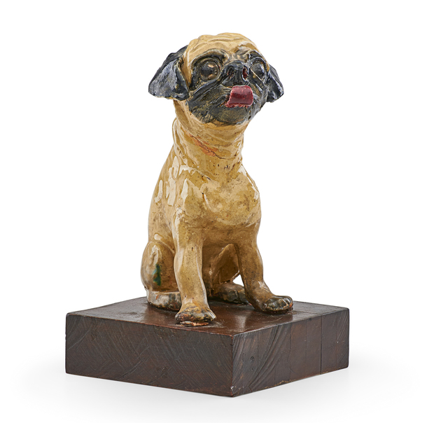 Dolly Moore, 'Untitled (Figure of a pug dog)', mid 20th c., Rago