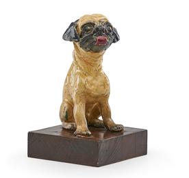 Untitled (Figure of a pug dog)