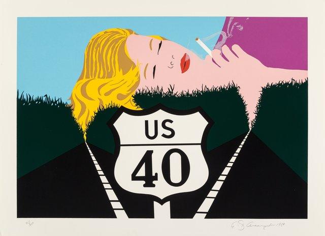 Allan D'Arcangelo, 'Smoke Dreams', 1980, Heritage Auctions