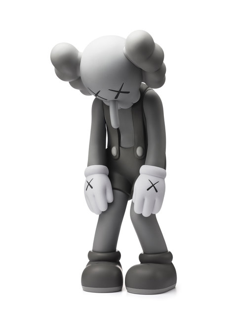 KAWS, 'Small Lie (Open Edition) Gray', 2017, Dope! Gallery