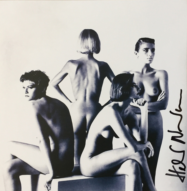, 'Untitled (Four Models on Cube),' , Hal Bromm