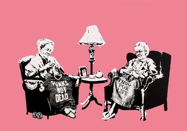 Banksy, 'Grannies', 2006, Rhodes