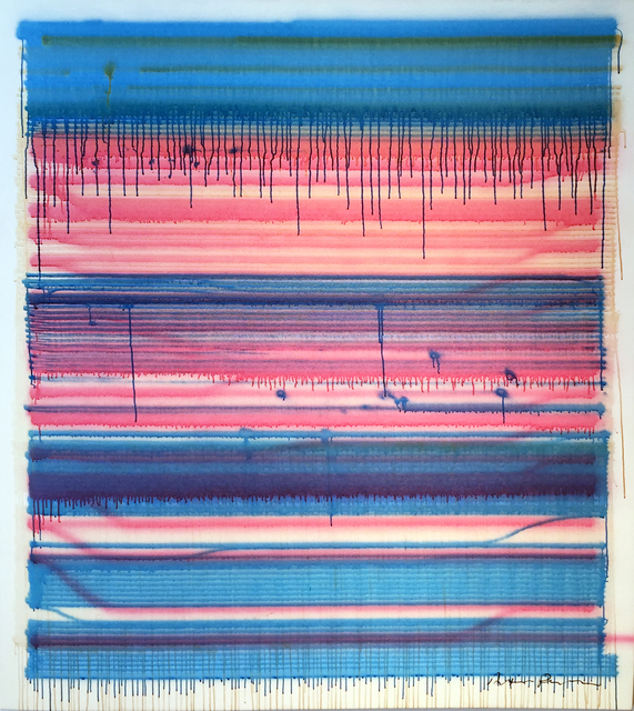 , 'Fugue,' 2015, Wallplay