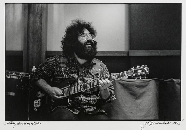 Jim Marshall, 'Jerry Garcia', 1969, John Moran Auctioneers