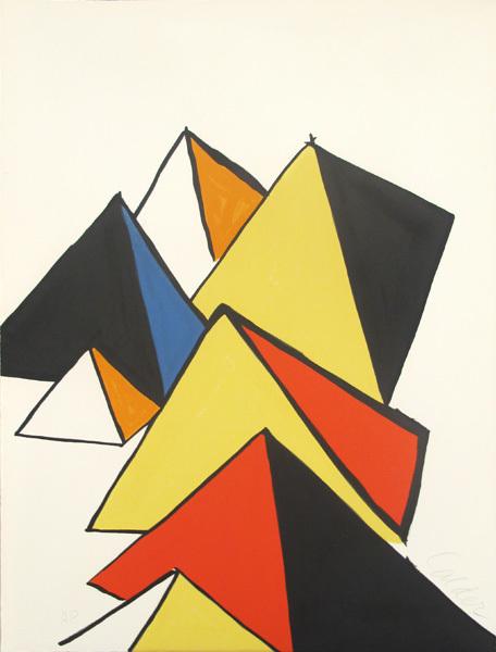 Alexander Calder, 'Pyramides', 1970, Hamilton-Selway Fine Art