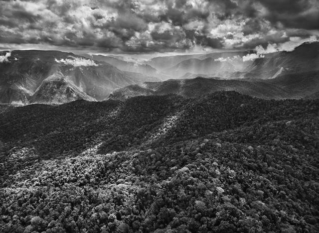 Sebastião Salgado, 'The Amazon Rainforest Borders the Imeri Mountain Range, Amazonas, Brazil', 2009, Huxley-Parlour