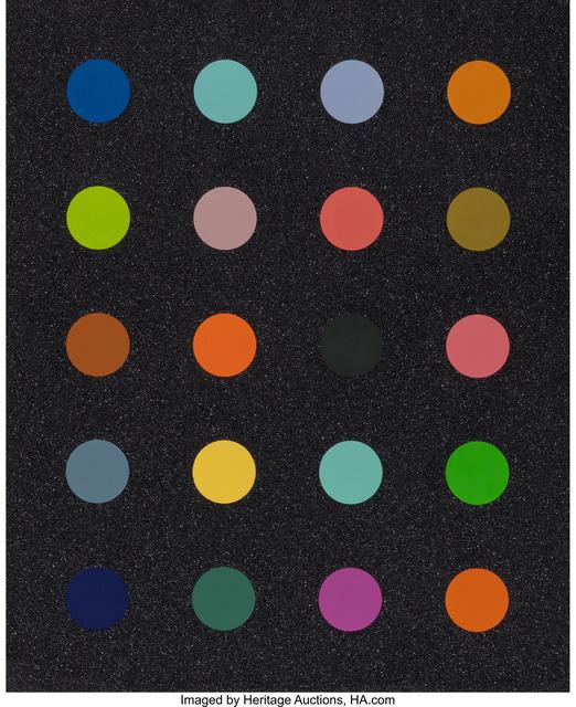 Damien Hirst, 'Methylamine-13C (Black)', 2014, Heritage Auctions
