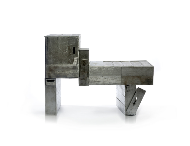 , 'Collapsing Penosbscot Aluminum Shack Sideboard,' 2017, Wexler Gallery
