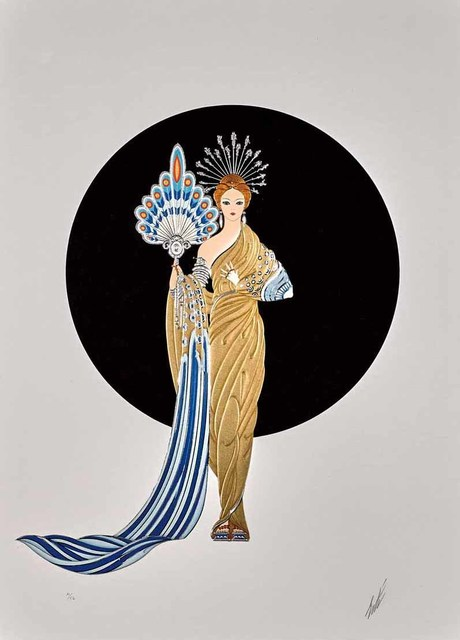 Erté (Romain de Tirtoff), 'Athena (Legends)', 1986, Martin Lawrence Galleries