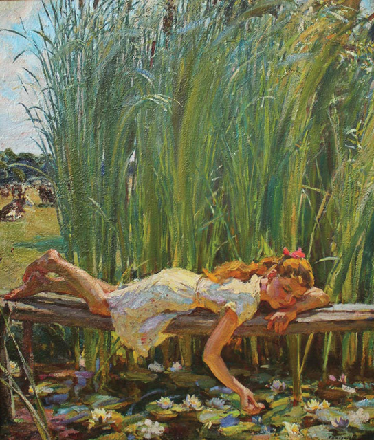 , 'Summer,' 1975, Paul Scott Gallery & galleryrussia.com