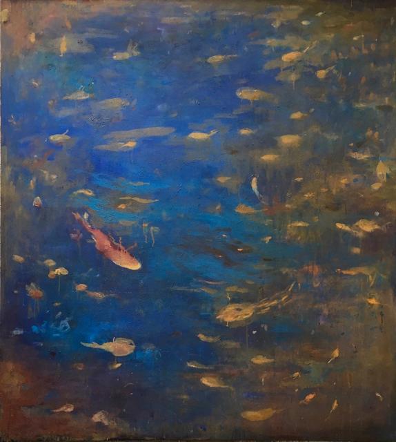 , 'Night Pool,' 2017, Carrie Haddad Gallery