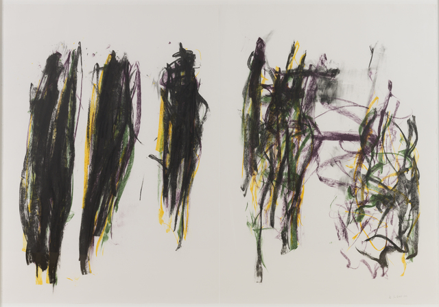 , 'Trees II,' 1992, Susan Sheehan Gallery