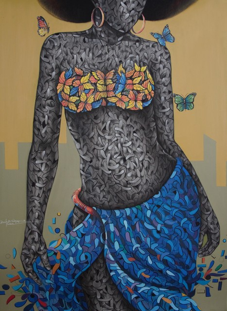 , 'SKINDO,' 2018, Signature Beyond Art Gallery (Nigeria)