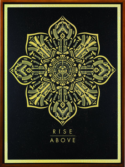 Shepard Fairey (OBEY), 'Rise Above (Caliber)', 2016, Underdogs Gallery